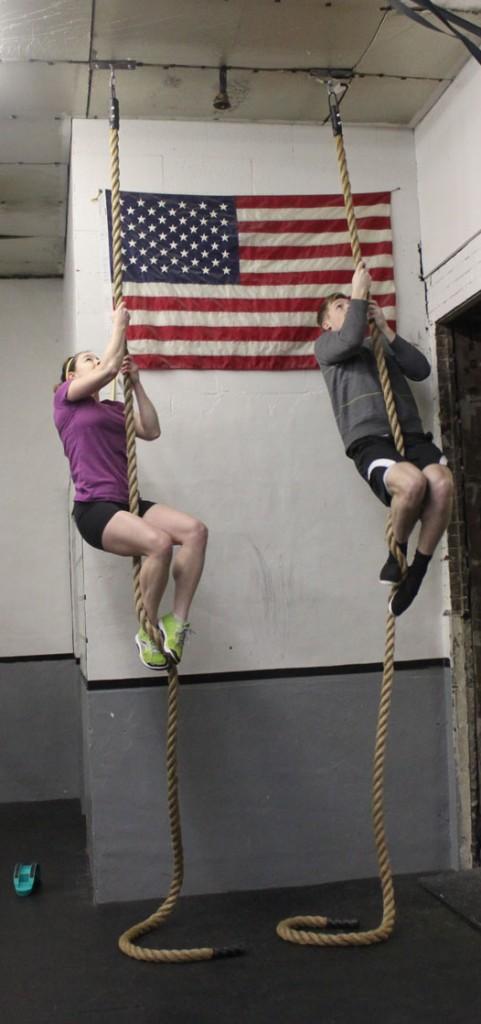 morgan rope climb