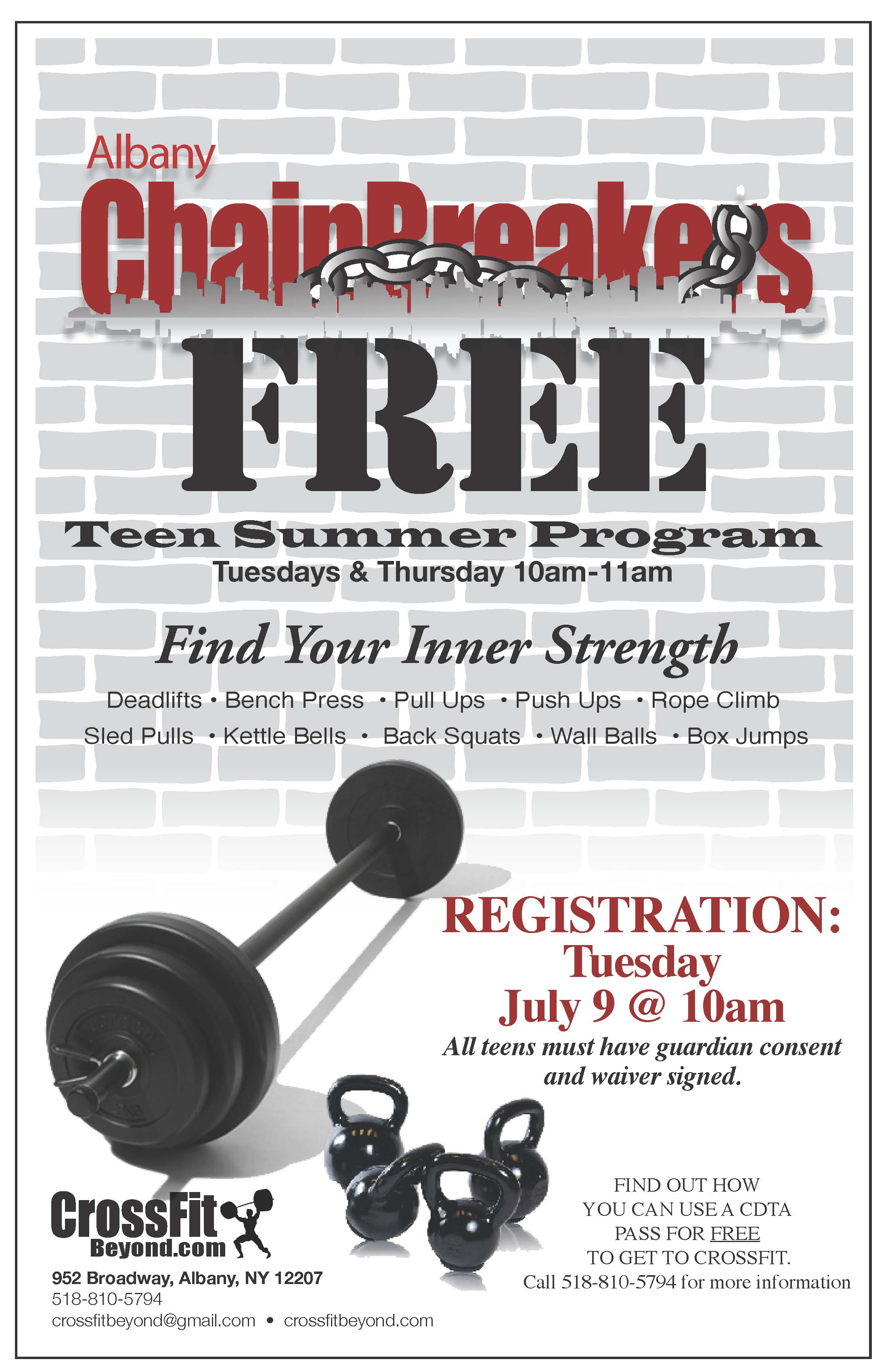 Free Teen Summer Programs 121