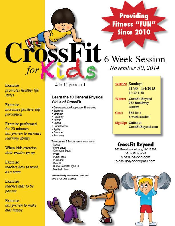 CrossFit for Kids Flyer3