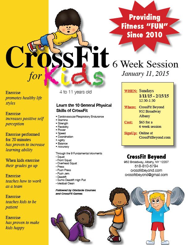 CrossFit for Kids Flyer4